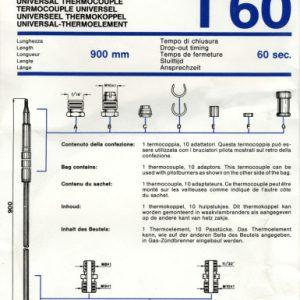 Univerzálny termoelektrický článok 900mm