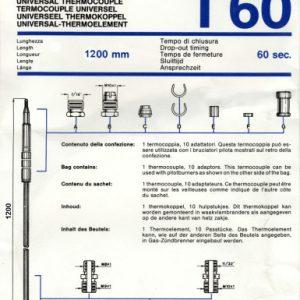 Univerzálny termoelektrický článok 1200mm