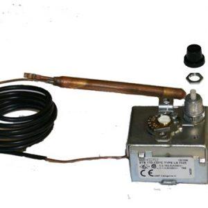 Bezpečtnostný termostat 110-130°C