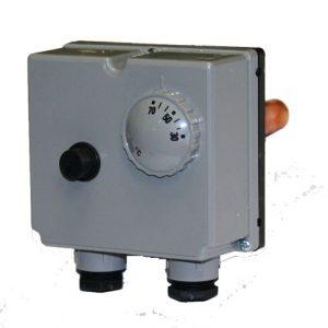 Regulátor teploty s bezpečnostným termostatom 0-70°C