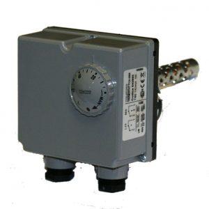 Teplovzdušný termostat 0-60°C / 30-120°C