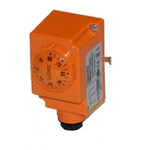 Regulátor teploty na potrubie 20-90°C