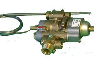 Termostatický plynový ventyl100-200 °C