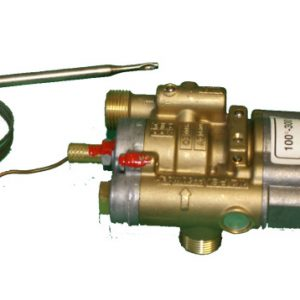 Plynový ventil s termostatom 0-300°C