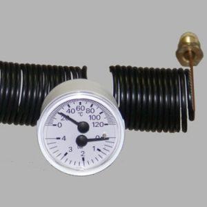 Teplomer s tlakomerom 120 °c / 4 bar
