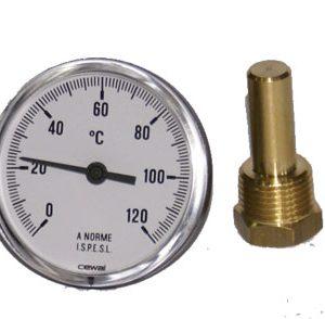 Teplomer BIMETAL  0 – 120°c