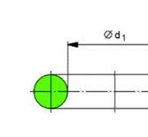 Tesnenia D69,44×3,53 VENT.BIMETAL.CONDENS