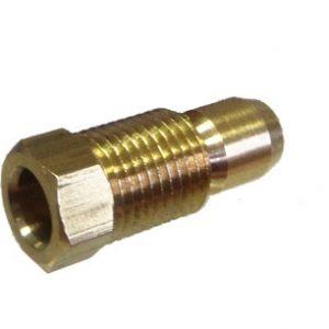 Pritahovacia skrutka prevlečná s prstencom D6 – M10