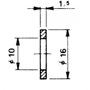 Tesnenie AL D10