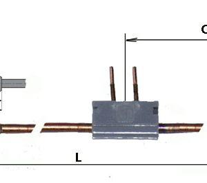 Termoelektrický článok M9X1 / 1000mm istič
