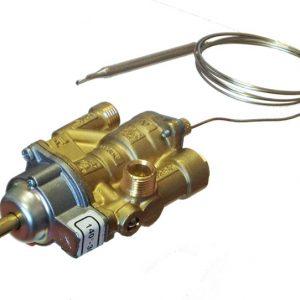 Plynový ventil s termostatom 140-300°C