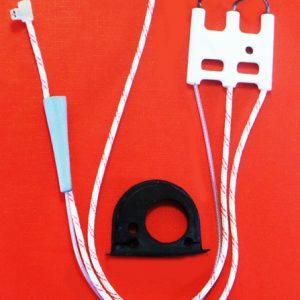 Zapaľovacia elektróda pre poistku plameňa